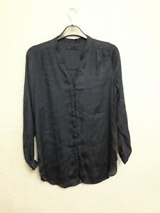 size 12 navy blue blouse from Marks & Spencer