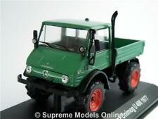 MERCEDES BENZ UNIMOG U 406 MODEL TRUCK LORRY 1:43 SCALE GREEN 1977 IXO FARM K8Q