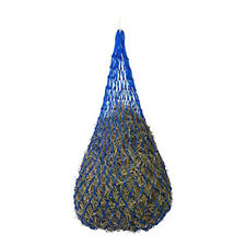 """92cm/36"""" Blue Horse Slow Feed Hay Net Haynet Bag - 20 Sections, Hole 40mm"""