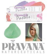 1 Haartönung PRAVANA CHROMA SILK Pastel 90ml Tube Mint Grün Naturnah Haarfarbe