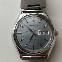 Vintage Seiko Lord Matic LM 5606-7010 Automatic 25Jewels Gray Dial Mens Watch
