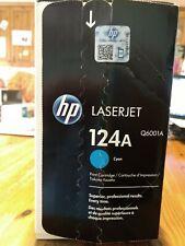 HP Original Q6001A Genuine HP LaserJet Cyan 124A