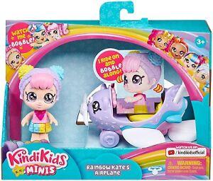 Kindi Kids Minis RAINBOW KATE'S AIRPLANE - New