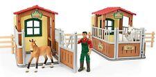 Schleich® Horse Club 72116 Besuch im Offenstall