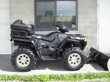 2007 POLARIS SPORTSMAN BLACK STEALTH LE 800 EFI HO PLOW WINCH 4X4 CHEAP SHIP XP