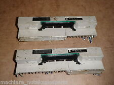 LOT OF (2) Yoshida PX7DW-50V4 Terminal Board PZ7DW50V4