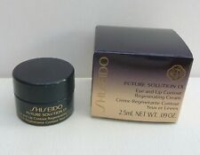 Shiseido Future Solution LX Eye and Lip Contour Regenerating Cream, 0.09oz, BNIB