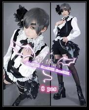 Anime Black Butler/Kuroshitsuji Book of Circus Ciel Phantomhive Cosplay Costume