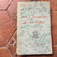 Henri Fursy Las Chansons de La Caja 3e Chansons Roas Paul Ollendorff 1902