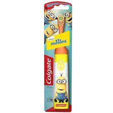 Colgate Minions Kids Battery Operated Toothbrush Yellow