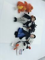 "Disney Store Mary Poppins Mini Bean Bag Plush 8"" Set of 4"