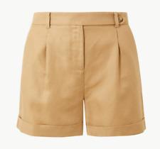 Damen m&s per una Knopf Ärmel Smart Casual Shorts Gr. 6 - 24