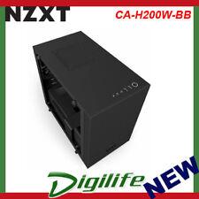 NZXT H200i Mini Tower Smart Case - Matte Black CA-H200W-BB