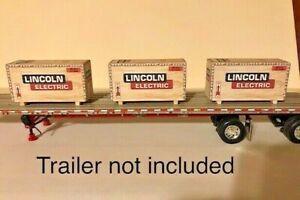 1/64 scale trailer load set of 3 TRUCK LOAD OF FUN Lincoln  ertl, dcp, semi