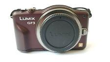 Panasonic LUMIX DMC-GF3K 12.1MP Digital Camera HD RECORDING Body Only