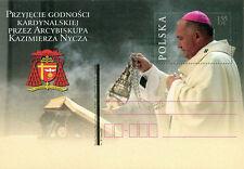Polska Poland 2010 Fi cp 1554 Przyjęcie godności kardynalskiej przez Arcybiskupa