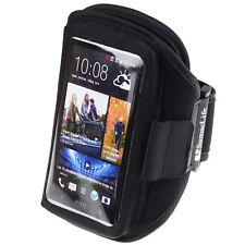 Black Gym Sport Armband Case for iphone 8 Plus / Samasung Galaxy S9+ / HTC U12+