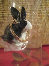 Rabbit Black & White ~ Key Chain ~ Great Gift Item