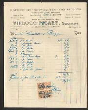 """GANDELU (02) ROUENNERIE , CONFECTION & CHAUSSURES """"VILCOCQ-PICART"""" en 1926"""
