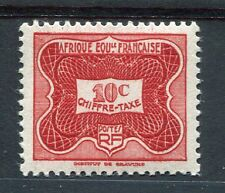 AEF - 1947, timbre taxe n° 12, neuf**