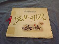 VINTAGE1900 BEN HUR SOUVENIR ALBUM SCENES OF THE PLAY BOOK
