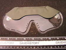 WWII Type Disposable Gas Goggles, Mint cond