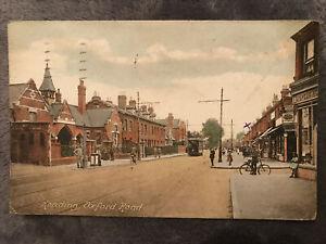 Reading, Oxford Road. Printed Postcard