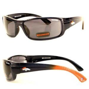 Denver Broncos NFL Block Sunglasses with Bag