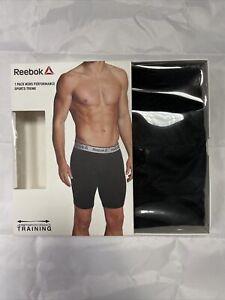 Reebok 1 Pack Mens Boxer Trunks Size S (BOX 21)
