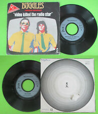 LP 45 7''BUGGLES Video killed the radio star Kid dynamo 1979 france no cd mc dvd
