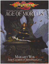 DragonLance: Age of Mortals: D&D 3.0 / 3.5 Dungeons and Dragons - HC Sourcebook