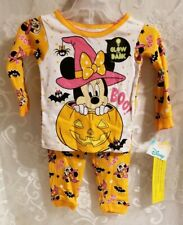 Disney Minnie Mouse Infant Girl's Halloween Pajamas Size 24 months Nwts