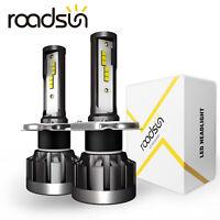 CSP H4 9003 HB2 MINI  LED Headlight Kit 40W 4000LM Hi-Low Beam Xenon 6000K Lamp
