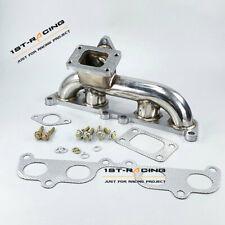 Stainless Turbo T3 Manifold Header Tacoma Hilux 4Runner 2RZ-FE 3RZ-FE For Toyota