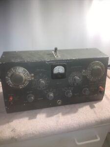 Heathkit Model 1B-2A Impedance Bridge Vintage American Test Equipment