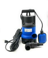 Submersible Sump Pump, 1/2 HP - Adjustable Tether Switch; Max Flow of 2,000 GPH
