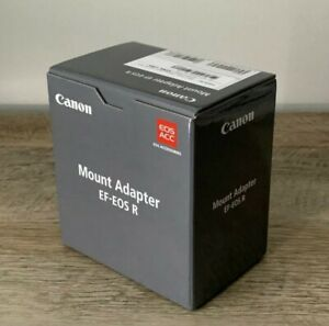 💥BRAND NEW💥 Canon EF-EOS R Lens Mount Adapter - For R5, R6, RP, R (EF To RF)