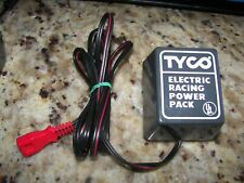 Tyco Slot Car Wall Plug Transformer Pack, Model 610C, 20VDC