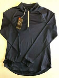 Under Armour New Rally 1/4 Zip Pullover Golf Shirt Women's Size Medium 1465