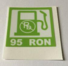 95 Ron Petrol Sticker for Rover Mini Metro Maestro Montego 200 400 600 800 Etc