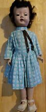 "Vintage 14"" 1950's Walker Doll Made in Usa"