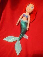 "Disney Store Ariel The Little Mermaid Plush Doll Soft 20"" Princess Stuffed"