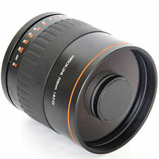 900mm f/8 Mirror Lens for Canon Digital 7D 5D Mark II III 60D T4i T3 + T2 Mount