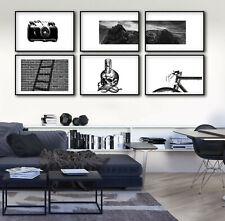 Cuadros blanco y negro Arte Moderno Decoracion Pared Hogar