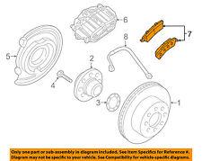GM OEM Brake-Rear Pads 88983902