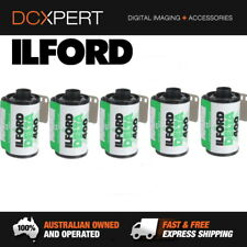 ILFORD DELTA 400 – 5 PACK – 24 EXPOSURES – 35mm BLACK & WHITE NEGATIVE FILM