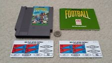 NES Nintendo, Play Action Football cartridge with manual and Play cards (& DC)