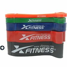 xFitness Pull Up Assist & Resistance Band - #5 Black - 65-175 lbs Resistance