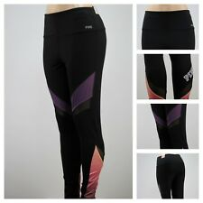 Victoria's Secret  PINK ULTIMATE HIGH-WAIST GRAPHIC GYM LEGGING PANTS M XX107