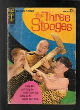 The Three Stooges 12 1963 good nice reading copy Gold Key